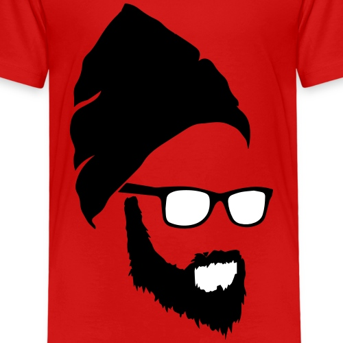Beard Guy - Kinderen Premium T-shirt