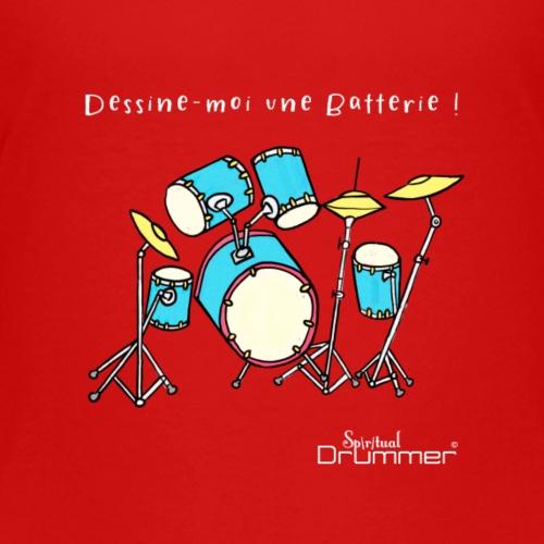 Luigi Drum White - Kids' Premium T-Shirt
