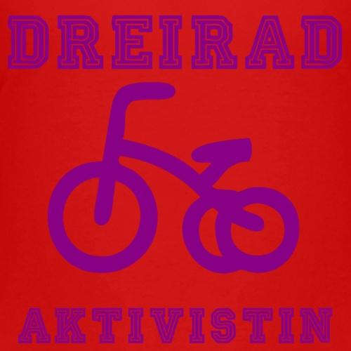 Dreirad Aktivistin - Kinder Premium T-Shirt