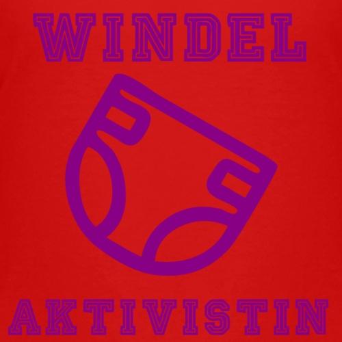 Windel Aktivistin - Kinder Premium T-Shirt