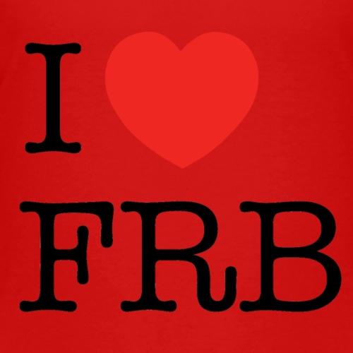 I Love FRB - Børnekollektion - Børne premium T-shirt