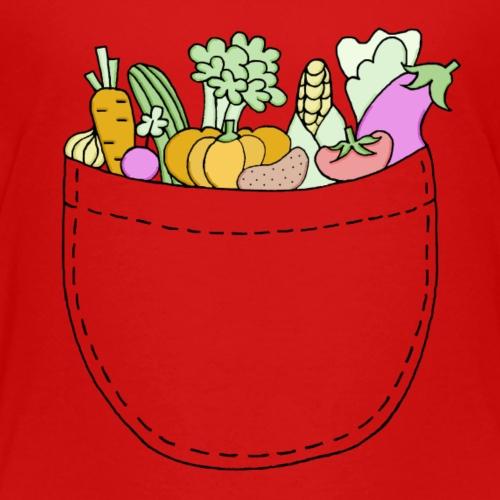 Veggie Pocket - Kids' Premium T-Shirt