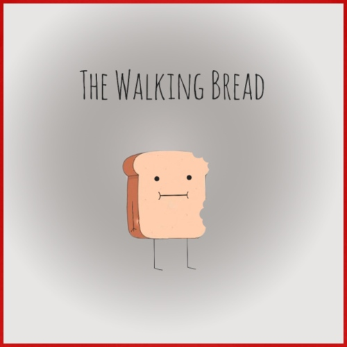 The walking Bread - T-shirt Premium Enfant