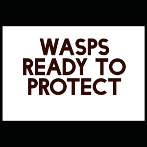 Wasps ready to protect - Premium T-skjorte for barn