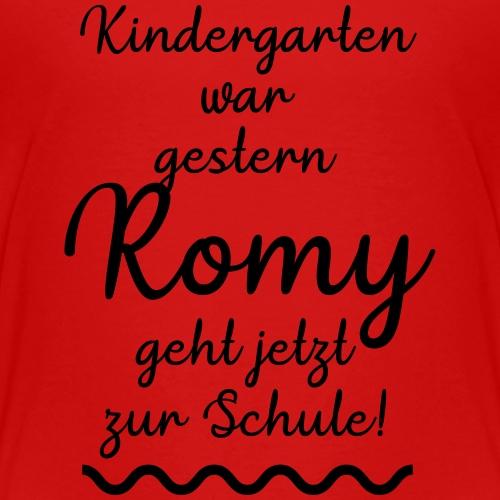Kindergarten war gestern (Romy) - Kinder Premium T-Shirt