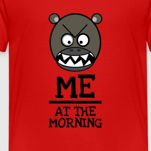 Good morning Brummbär - ME AT THE MORNING - Kids' Premium T-Shirt