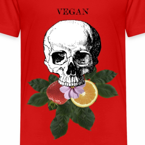 Vegan Eats - Muted Colour - Kids' Premium T-Shirt