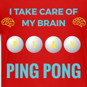 PING PONG - MY BRAIN - Premium T-skjorte for barn