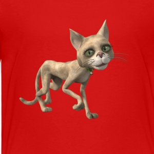 Computer animated cat - Kids' Premium T-Shirt