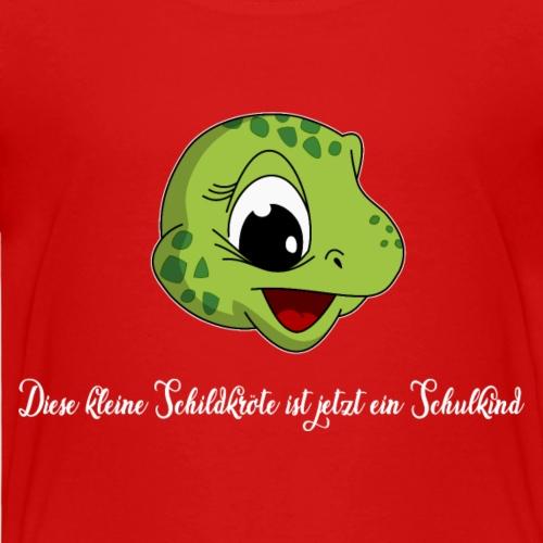 lorey.w kleine Schildkröte, Mädchen, Schulkind - Kinder Premium T-Shirt