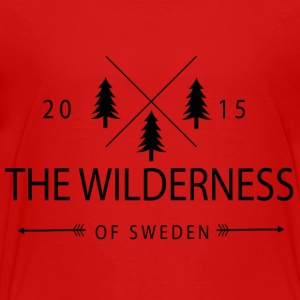 The Wilderness Of Sweden - Premium T-skjorte for barn