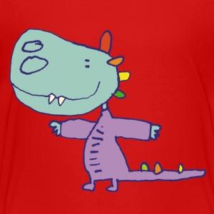 klein draakje / little dragon - Kinderen Premium T-shirt