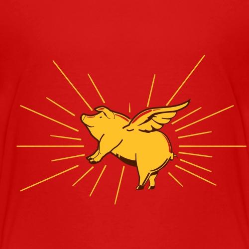 Flying pig - Kinderen Premium T-shirt