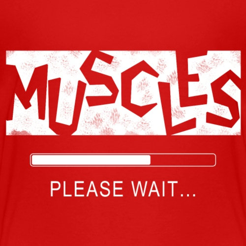 Muscles - Lasten premium t-paita