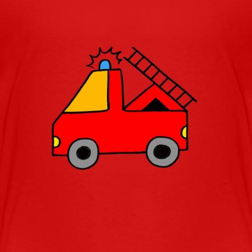Tatü Tata hier kommt die Feuerwehr! - Kinder Premium T-Shirt