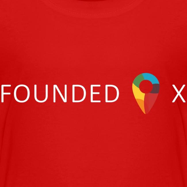 FoundedX logo white png