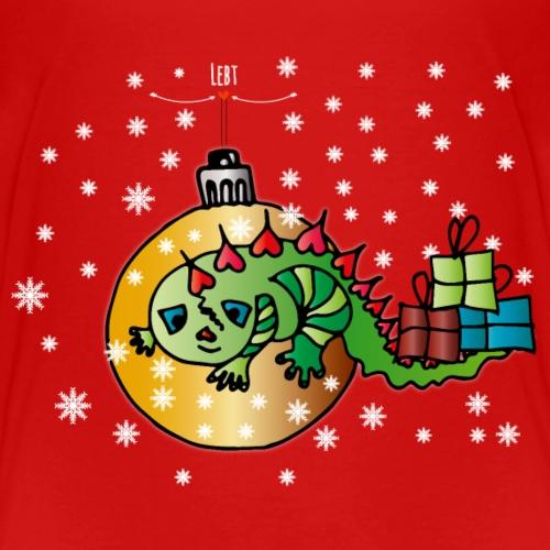 Weihnachtseidechse - Kinder Premium T-Shirt