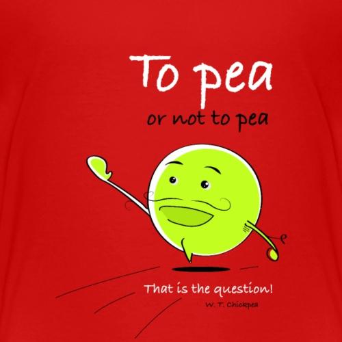 Romper to pea - Kinderen Premium T-shirt