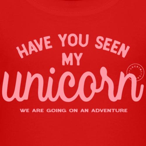 Unicorn pink - Premium-T-shirt barn