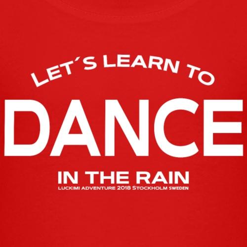Lets learn to dance - Kids - Premium-T-shirt barn