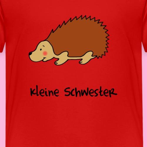 Liebevoller Igel für die kleine Schwester - Kinder Premium T-Shirt