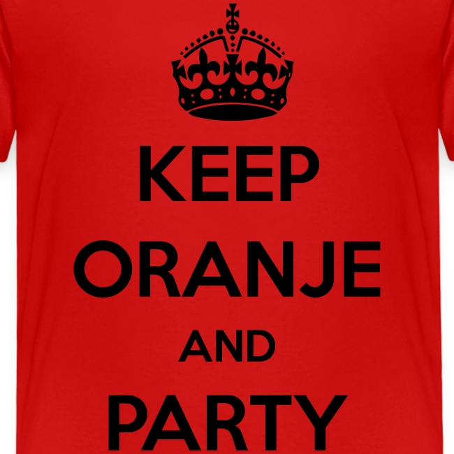 KEEP ORANJE AND PARTY