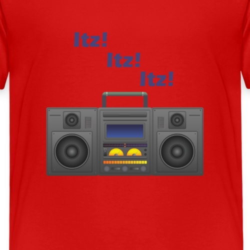 Itz! Itz! Itz! Ghettoblaster - Kinder Premium T-Shirt