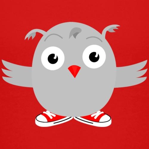 Kramig uggla - Premium-T-shirt barn