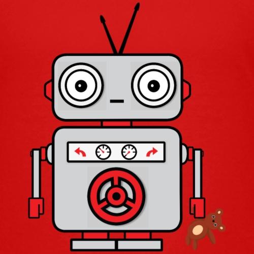 Liten robot - Premium-T-shirt barn