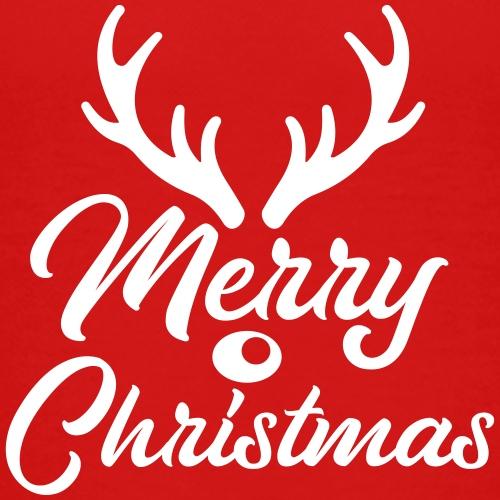 Merry Christmas antler men women kids - Kinder Premium T-Shirt