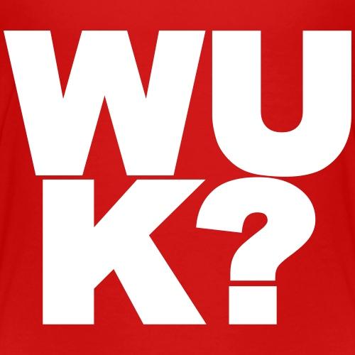 WUK? 1 kleur - Kinderen Premium T-shirt