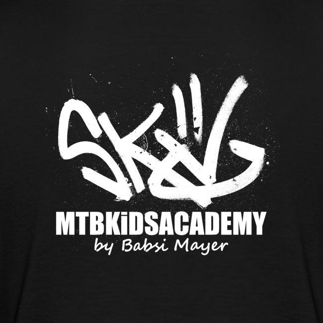 mtb kids academy4 white