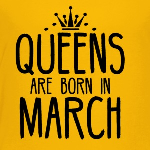 Queens are born in March - Kids' Premium T-Shirt