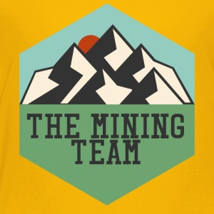 Bergbau: The Mining Team - Kinder Premium T-Shirt