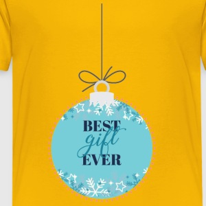 Weihnachten: Best Gift Ever - Kinder Premium T-Shirt
