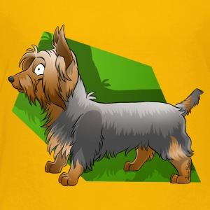 Silky Terrier - Premium T-skjorte for barn