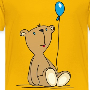 Teddy Bear Balloon cuddly children's toys - Kids' Premium T-Shirt