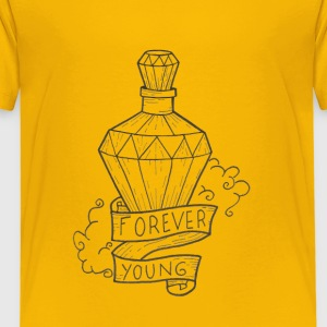 forever young - Kinderen Premium T-shirt