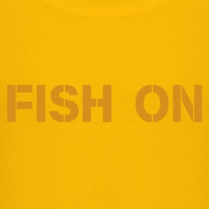 fish on scripture orange - Kids' Premium T-Shirt