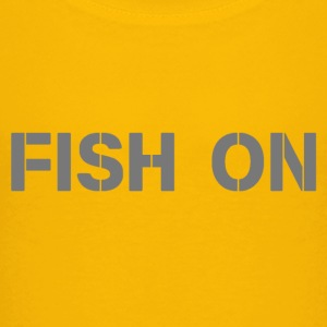 fish on scripture gray - Kids' Premium T-Shirt