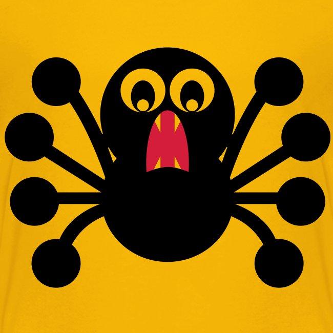 Frightened Spider