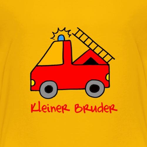Feuerwehr für den kleinen Bruder - Kinder Premium T-Shirt