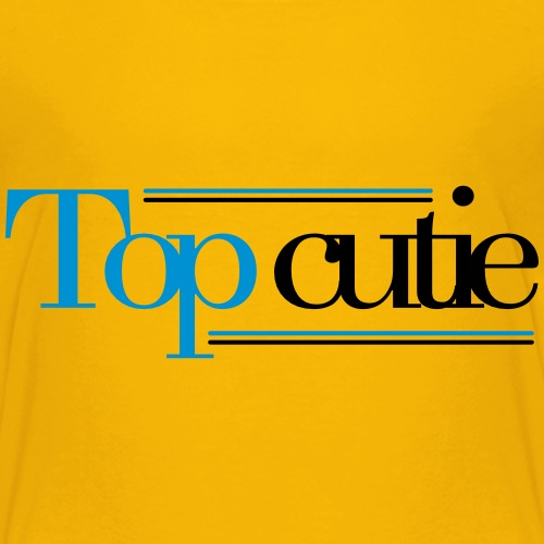 Top Cutie - Kids' Premium T-Shirt