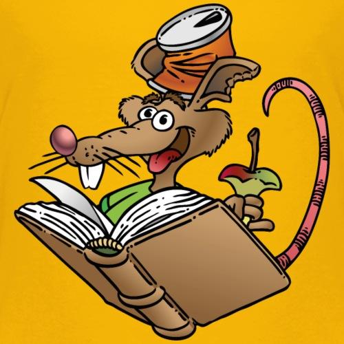 Lesen - Leseratte - Kinder Premium T-Shirt