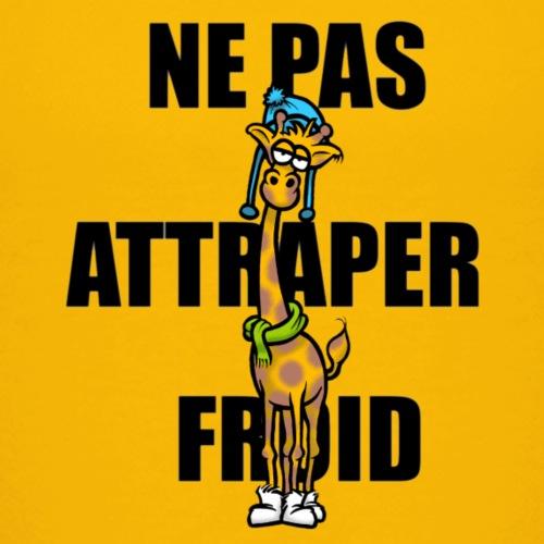 Girafe frileuse - T-shirt Premium Enfant