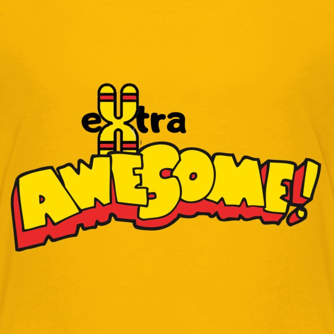 """""""eXtra Awesome"""" Down's Syndrome Tee"""