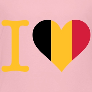 I Love Belgium - Kids' Premium T-Shirt