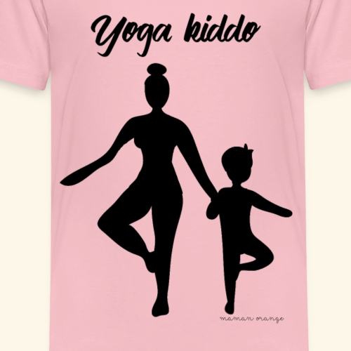 Yoga Kiddo - T-shirt Premium Enfant