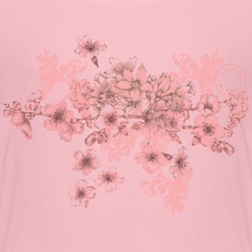 Coral pink bouquet - Children - Kids' Premium T-Shirt