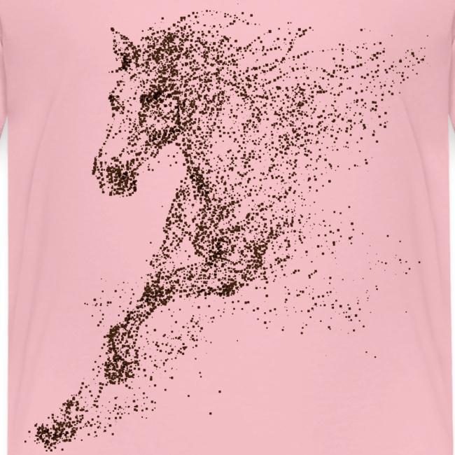 Vorschau: Pixel Horse brown - Kinder Premium T-Shirt